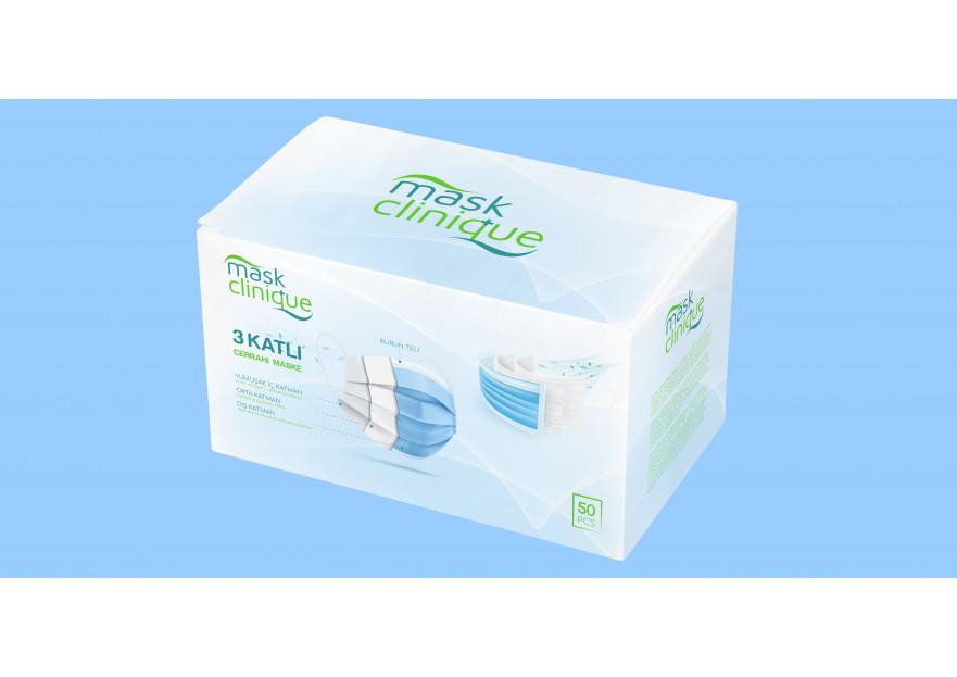Premium Maske Kutu Dizaynı yarışmasına tasarımcı 10DESİNGNER tarafından sunulan  tasarım