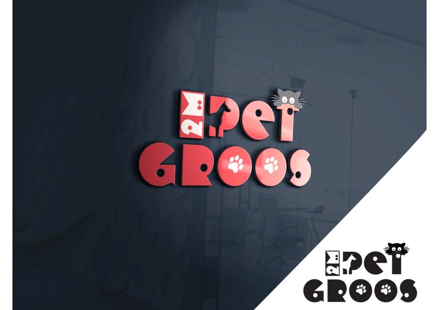 PET MARKET İÇİN LOGO TASARIMI yarışmasına tasarımcı hfy tarafından sunulan  tasarım