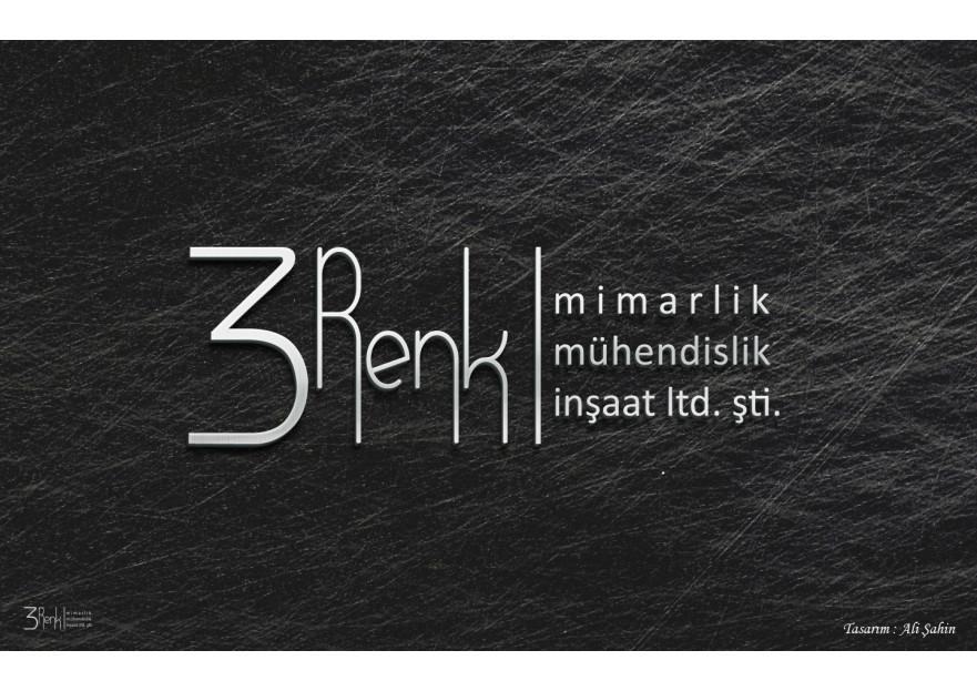 3 RENK MİMARLIK LOGO TASARIMI yarışmasına tasarımcı proea tarafından sunulan  tasarım