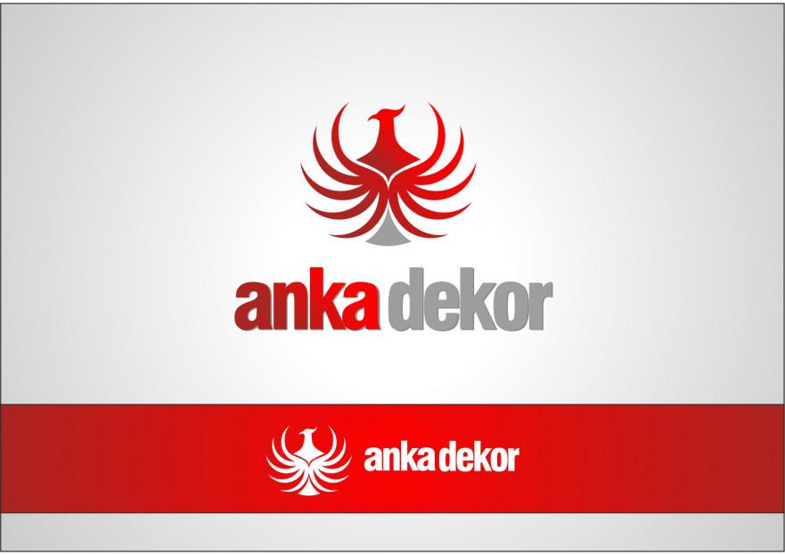 Anka Dekor için Logo ve Kurumsal Kimlik  yarışmasına grafikerh tarafından girilen tasarım