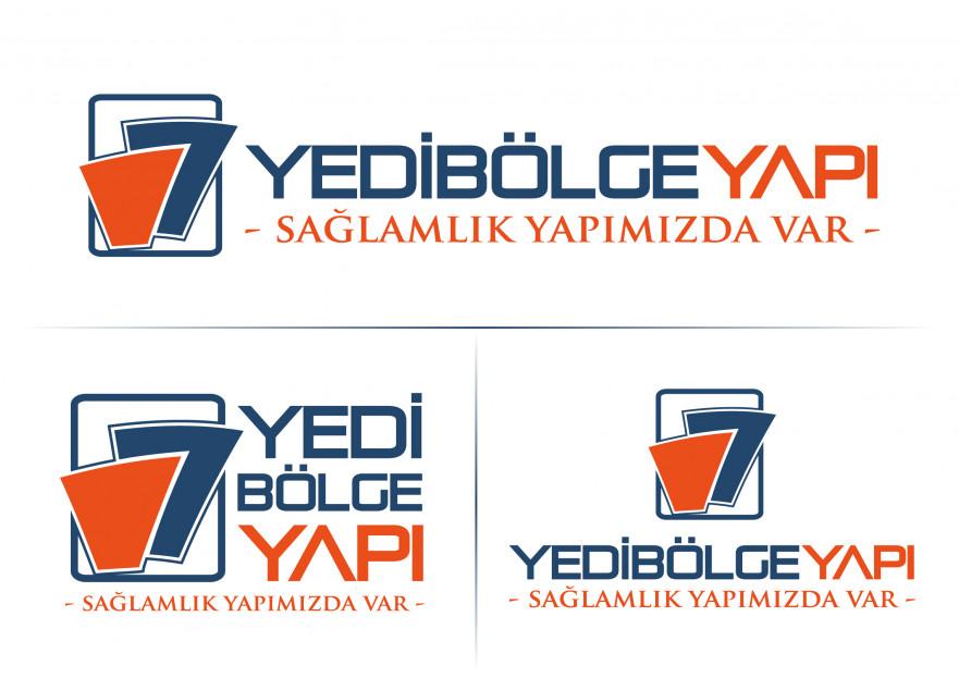 İnşaat firmamız için logo tasarımı yarışmasına tasarımcı volkanKocaman tarafından sunulan  tasarım