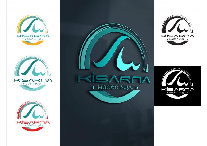 kisarna maden suyu için logo çalışması yarışmasına tasarımcı Pulseofmaggots tarafından sunulan  tasarım