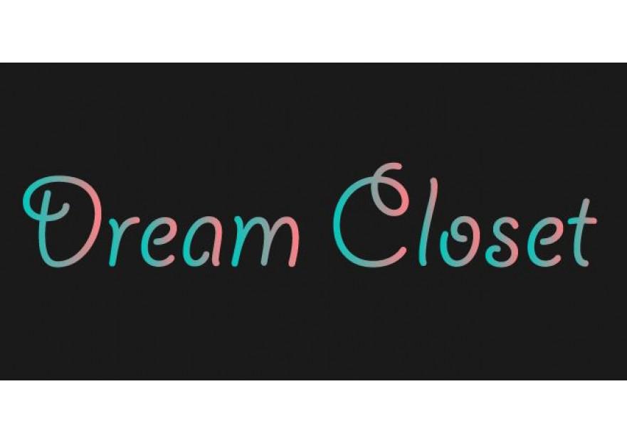 DreamCloset.net Logo yarışmasına tasarımcı DamlaÖzay tarafından sunulan  tasarım