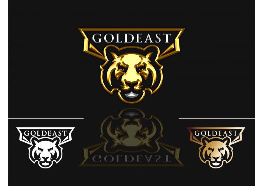 GoldEast Esport Counter Stike CsGo Logo yarışmasına cs_design tarafından girilen tasarım