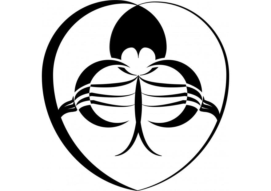 Eşimle benim harflerimden logo yarışmasına tasarımcı Sepetchi tarafından sunulan  tasarım