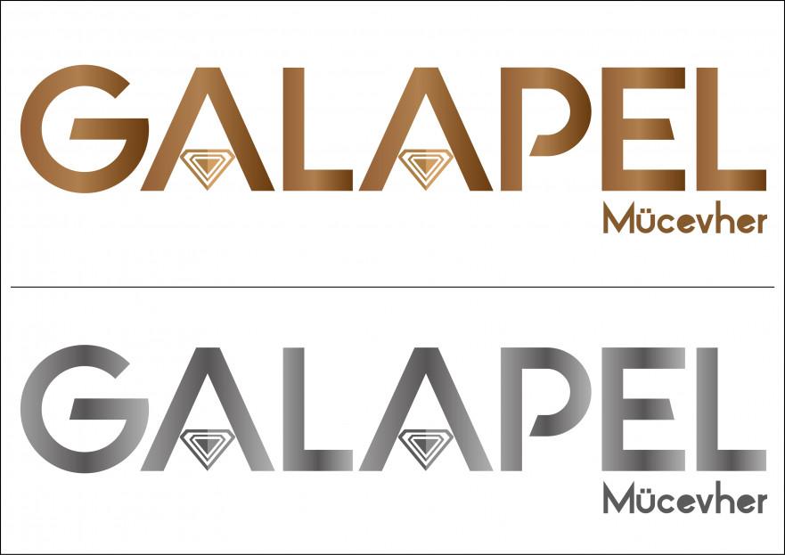 Mücevher markası logo  yarışmasına tasarımcı minne tarafından sunulan  tasarım