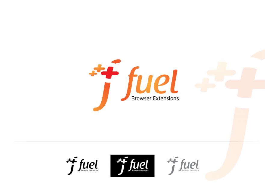 Fuel Browser Extensions Platformu Logosu yarışmasına proea tarafından girilen tasarım