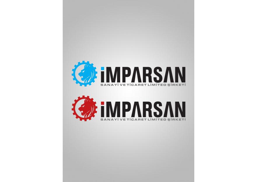 İMPARSAN SAN. TİC. LTD. Logo tasarımı yarışmasına tasarımcı Rapsodi tarafından sunulan  tasarım