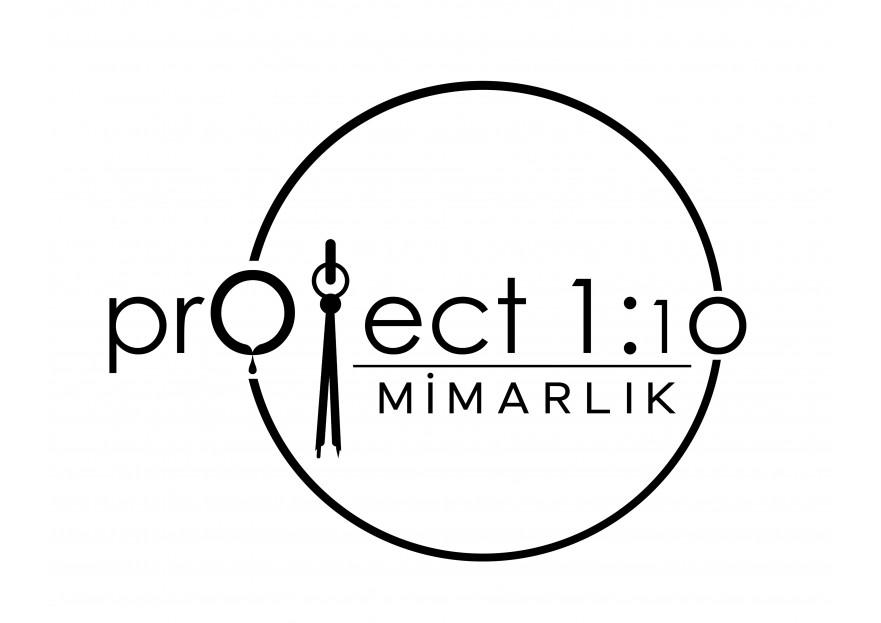 'PROJECT 1/10' mimarlık firması logosu ! yarışmasına X193 tarafından girilen tasarım