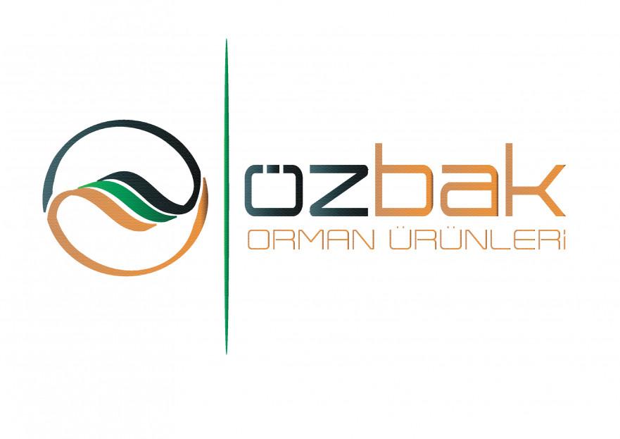 ÖZBAK ORMAN ÜRÜNLERİ İÇİN KURUMSAL LOGO yarışmasına tasarımcı dream_design tarafından sunulan  tasarım