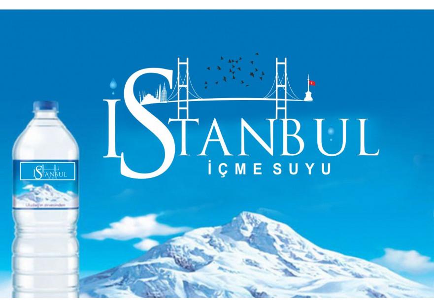 ''İstanbul İçme Suyu'' logosu yarışmasına tasarımcı elifgrafikdesign tarafından sunulan  tasarım