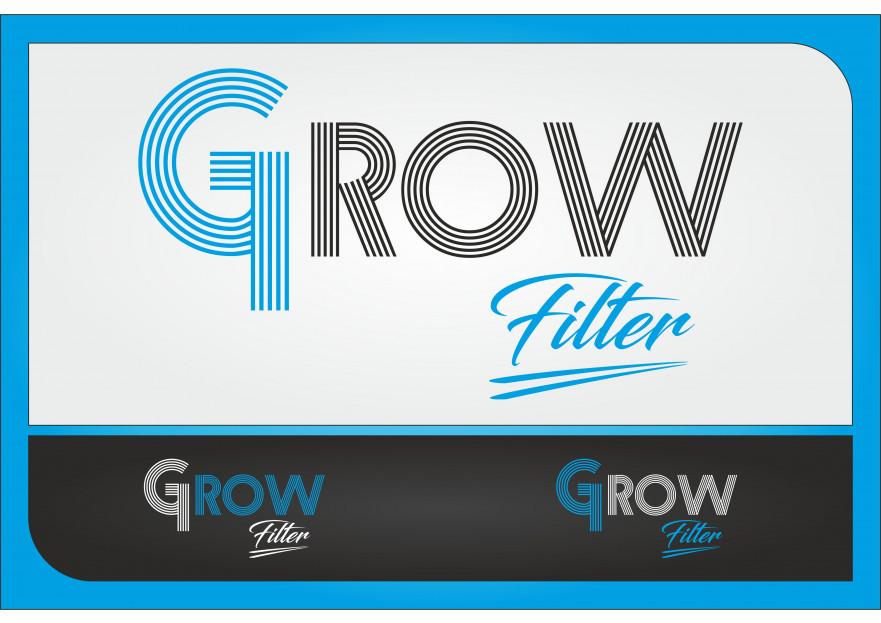 Grow filter Markamıza logo yarışmasına DEMİR Reklam tarafından girilen tasarım
