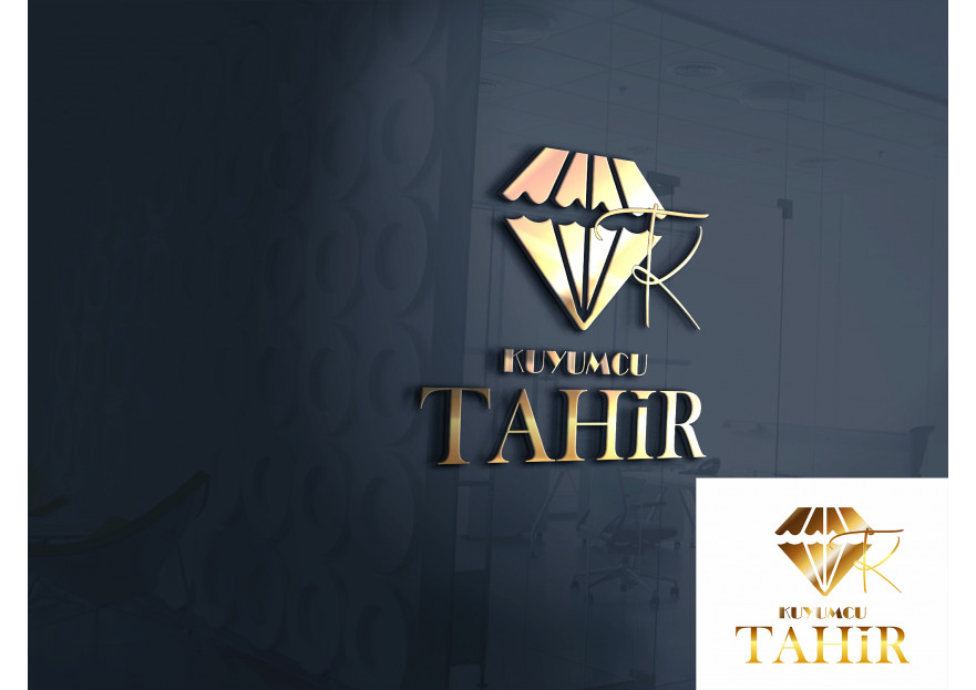 Kuyumcu Tahir -Farklı dikkat çeken logo  yarışmasına aysedesign tarafından girilen tasarım