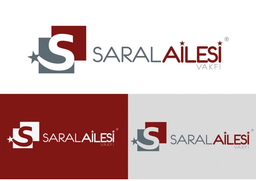 Saral Ailesi Logo Tasarımı yarışmasına tasarımcı EmreDesign ™ tarafından sunulan  tasarım