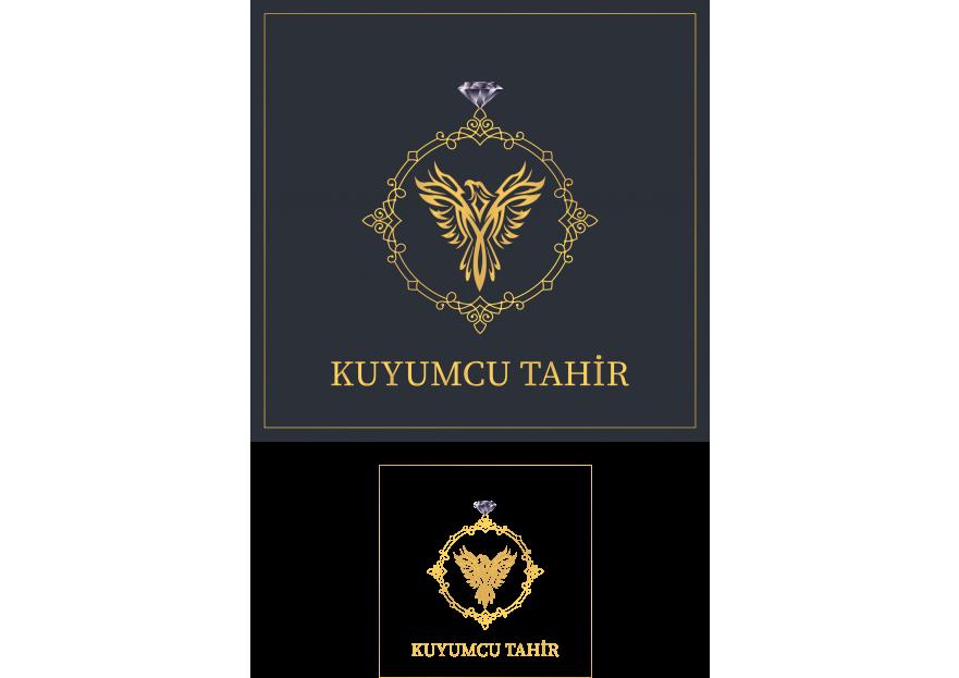 Kuyumcu Tahir -Farklı dikkat çeken logo  yarışmasına tasarımcı alperencakmak tarafından sunulan  tasarım