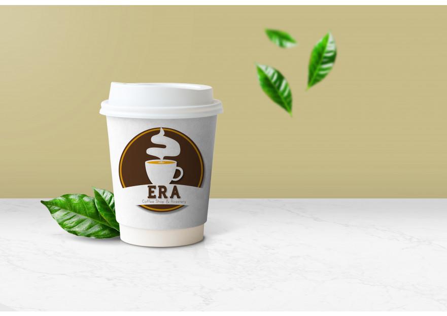 Kahve Dükkanı için Logo yarışmasına tasarımcı agenc93 tarafından sunulan  tasarım
