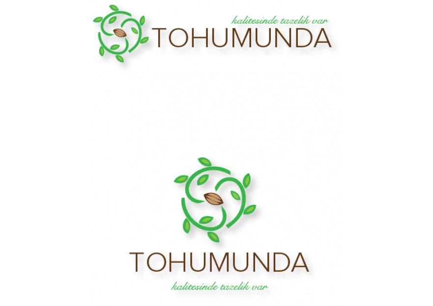 Taze ve Doğal Gıdalarımız için Logo yarışmasına tasarımcı RED tarafından sunulan  tasarım