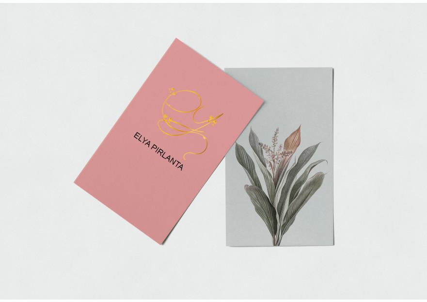 ELYA Pırlanta firması Logo tasarımı yarışmasına tasarımcı Taayzslath tarafından sunulan  tasarım