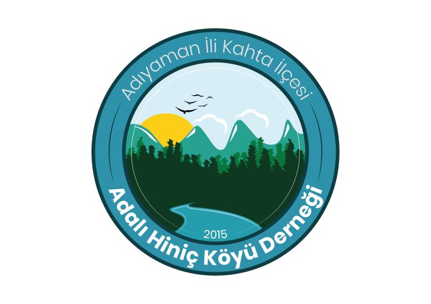 Adalı Hiniç Köyü Derneği Logo  yarışmasına AlKo_Design tarafından girilen tasarım