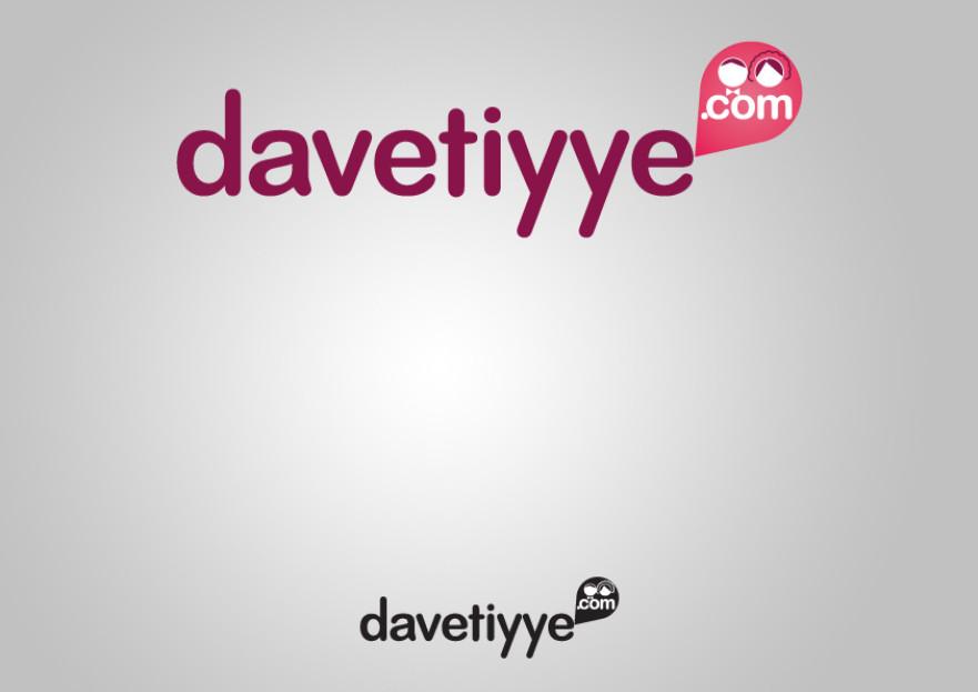 Davetiye E-Ticaret Sitesi Logo Tasarımı yarışmasına tasarımcı hknakar tarafından sunulan  tasarım