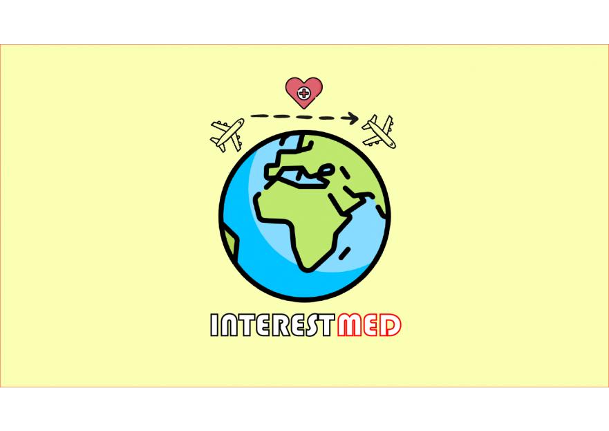Uluslarasi saglik turizmi icin logo yarışmasına tasarımcı Burak Berk Cihan tarafından sunulan  tasarım