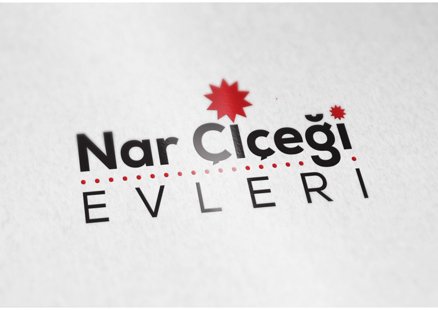 Nar Çiçeği Evleri için logo tasarımı yarışmasına tasarımcı reng tarafından sunulan  tasarım