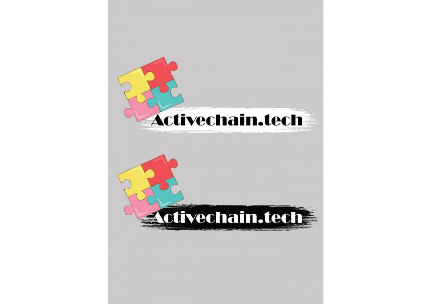 ActiveChain.tech Logo Yarismasi yarışmasına tasarımcı AO. tarafından sunulan  tasarım