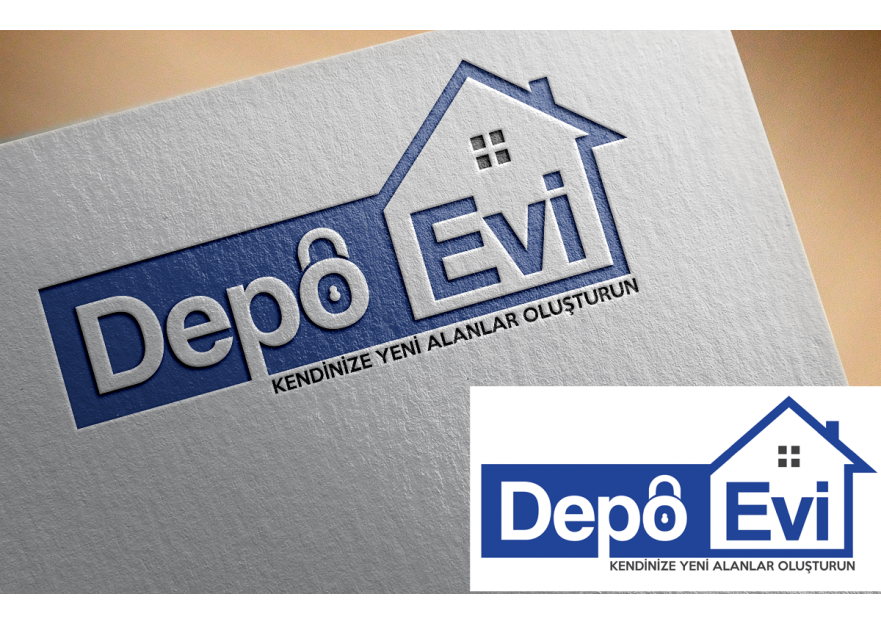 EŞYA DEPOLAMA FİRMASI LOGO TASARIMI yarışmasına tasarımcı muratrasul46 tarafından sunulan  tasarım