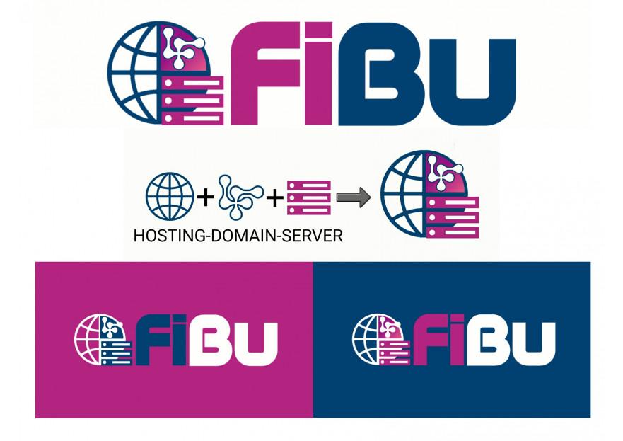 Hosting Firması için Kurumsal Logo yarışmasına A Designer tarafından girilen tasarım