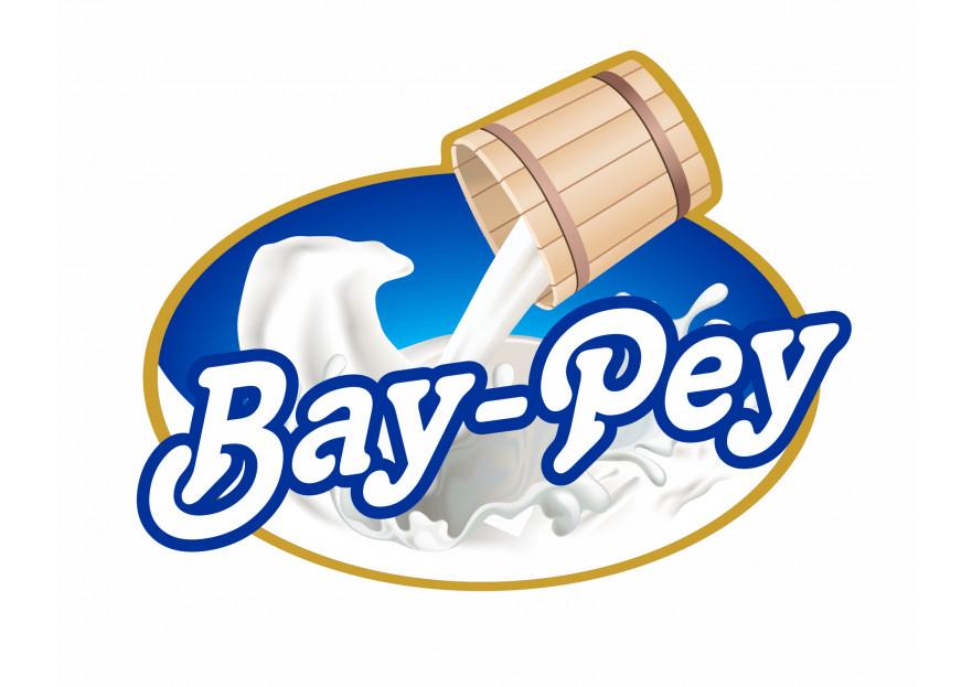 Bay-Pey Süt Ürünleri Logo Tasarımı yarışmasına kursunkalem tarafından girilen tasarım