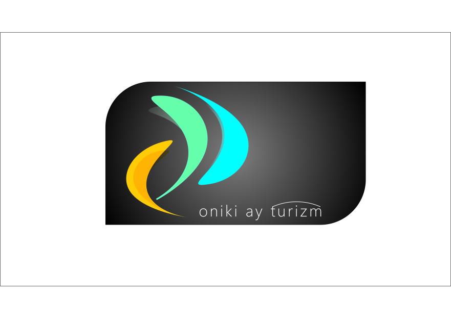 oniki ay ( 12 ay ) turizm logo çalışması yarışmasına tasarımcı desloup tarafından sunulan  tasarım