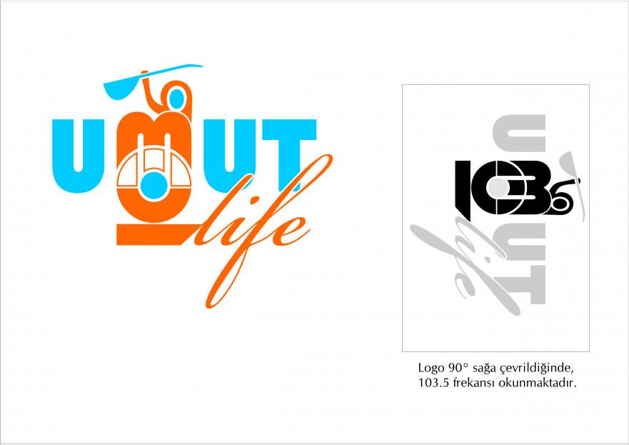 Radyomuz logosunu arıyor yarışmasına aytekinn tarafından girilen tasarım