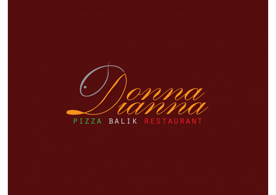 pizza restoranim icin logo tasarimi yarışmasına tasarımcı CΛSK tarafından sunulan  tasarım