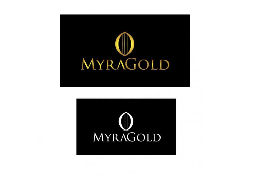 Myra Gold Kurumsal Kimlik Logosu yarışmasına B14 tarafından girilen tasarım