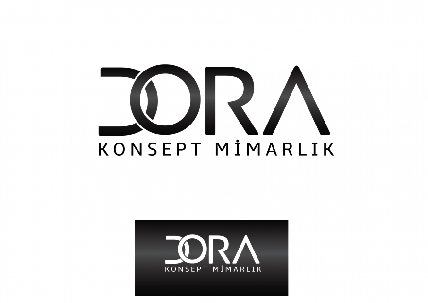 Dora Konsept Mimarlık Logosunu arıyor yarışmasına tasarımcı reng tarafından sunulan  tasarım