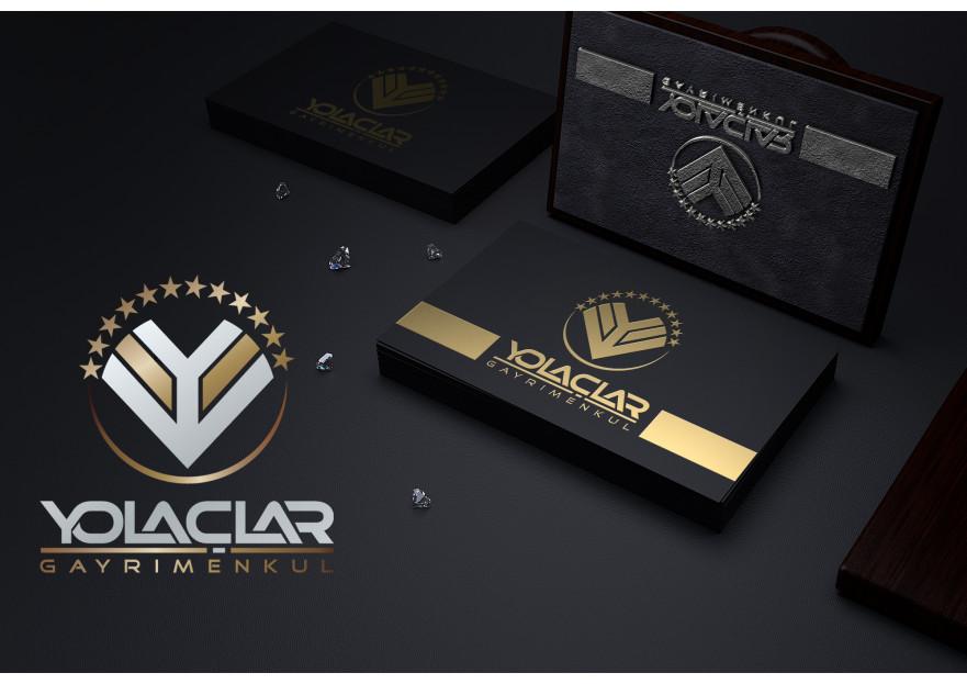 Gayrimenkul logo ve kartvizit tasarımı yarışmasına AhmetORAK tarafından girilen tasarım