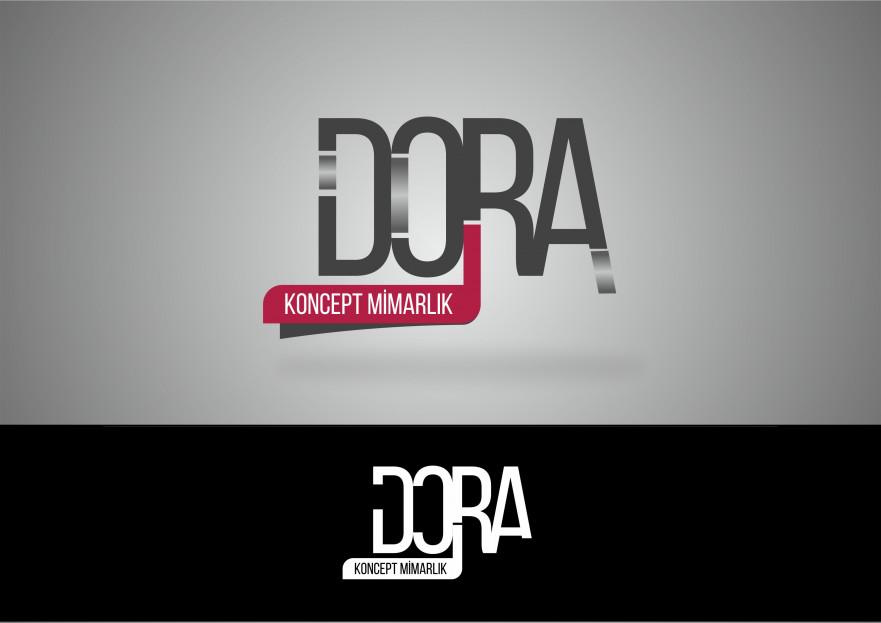 Dora Konsept Mimarlık Logosunu arıyor yarışmasına tasarımcı maricchi tarafından sunulan  tasarım