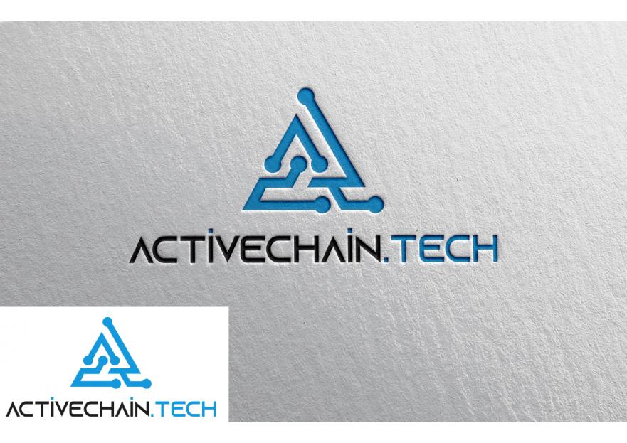 ActiveChain.tech Logo Yarismasi yarışmasına tasarımcı omertuylu tarafından sunulan  tasarım