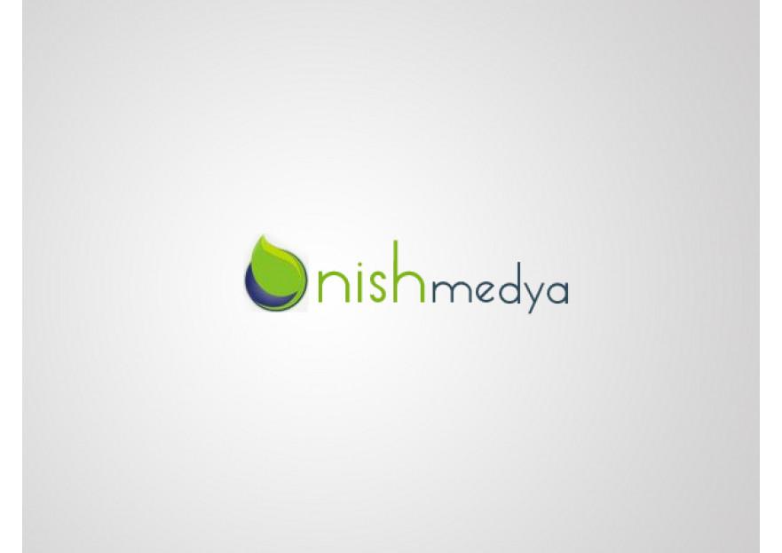 NİSH MEDYA LOGO YARIŞMASI yarışmasına tasarımcı m_oNur tarafından sunulan  tasarım