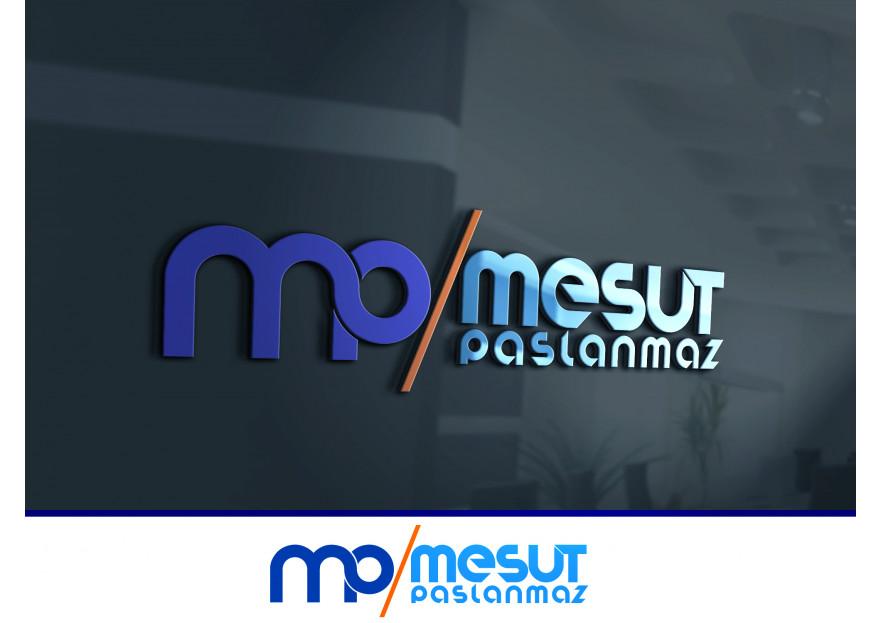 Mesut Paslanmaz Logo Çalışması yarışmasına tasarımcı kursunkalem tarafından sunulan  tasarım