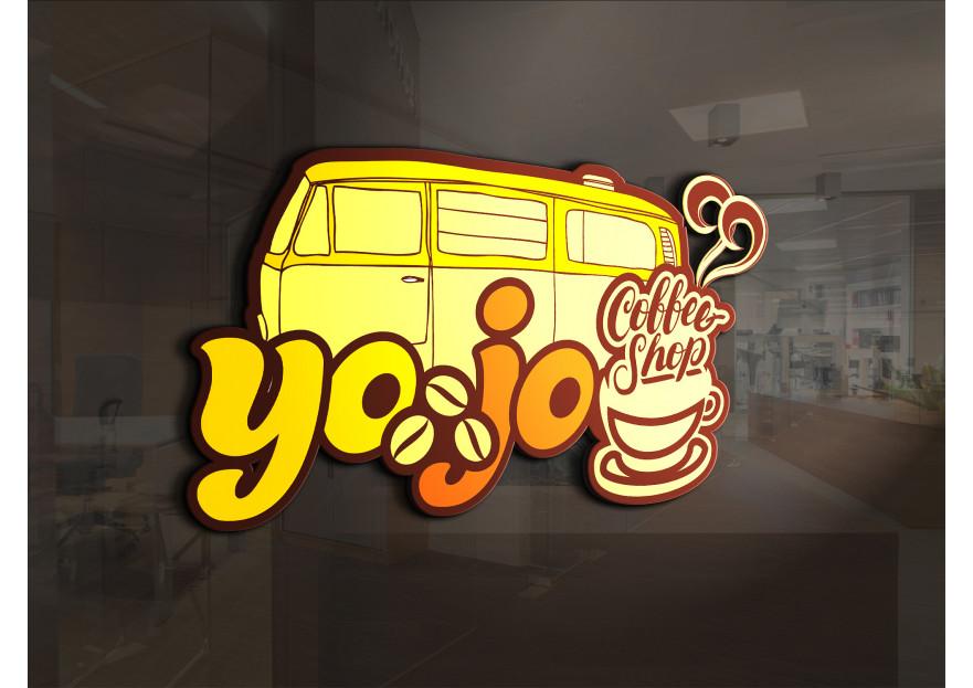 Kahveci Logosu yarışmasına tasarımcı tufangulsu tarafından sunulan  tasarım