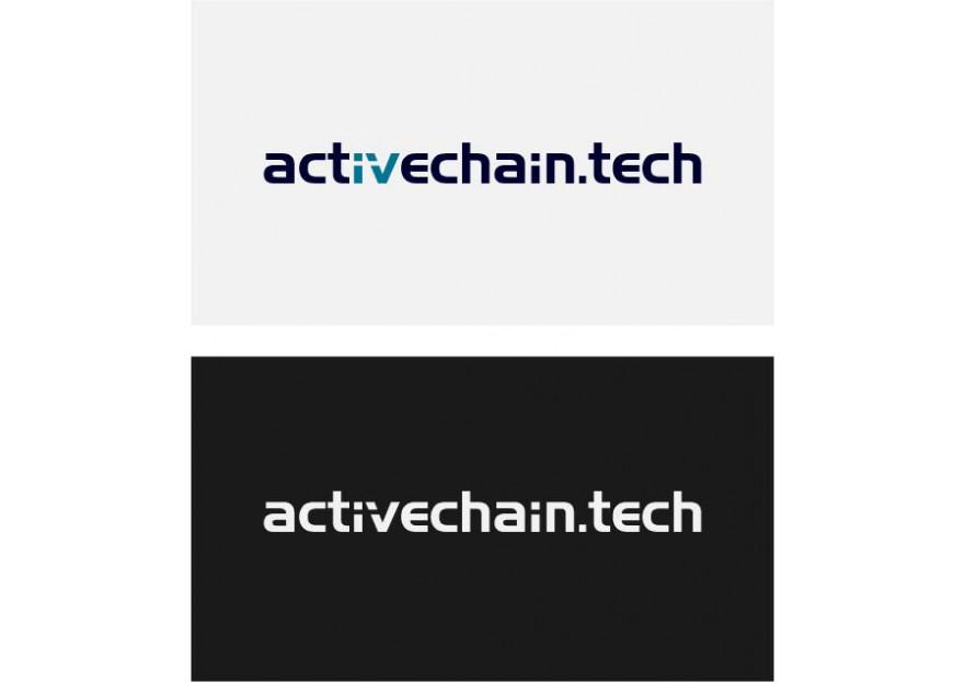 ActiveChain.tech Logo Yarismasi yarışmasına tasarımcı RED tarafından sunulan  tasarım