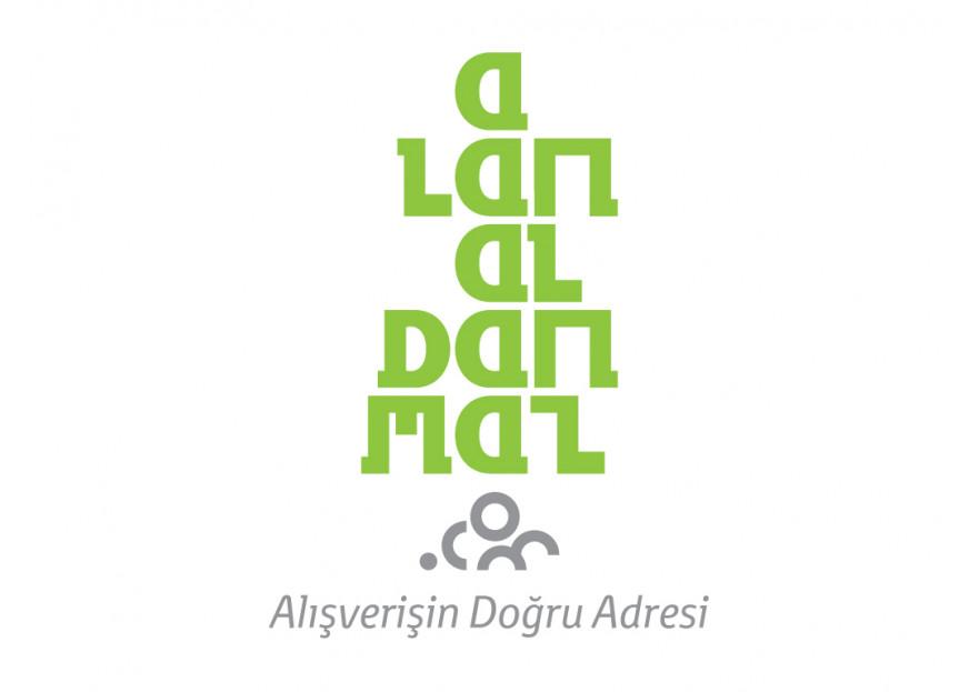 E-Ticaret Sitesi Logo Tasarımı yarışmasına afroman tarafından girilen tasarım