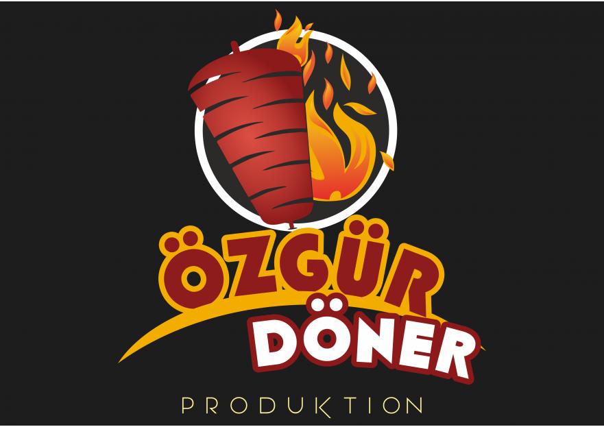 Toptan Döner logo yarışmasına blackdesign tarafından girilen tasarım