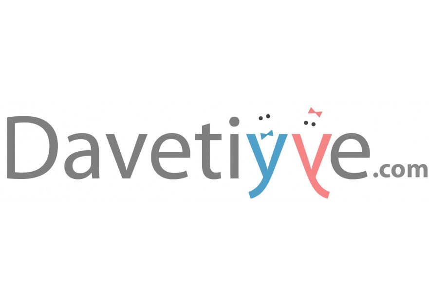 Davetiye E-Ticaret Sitesi Logo Tasarımı yarışmasına tasarımcı volkanky tarafından sunulan  tasarım