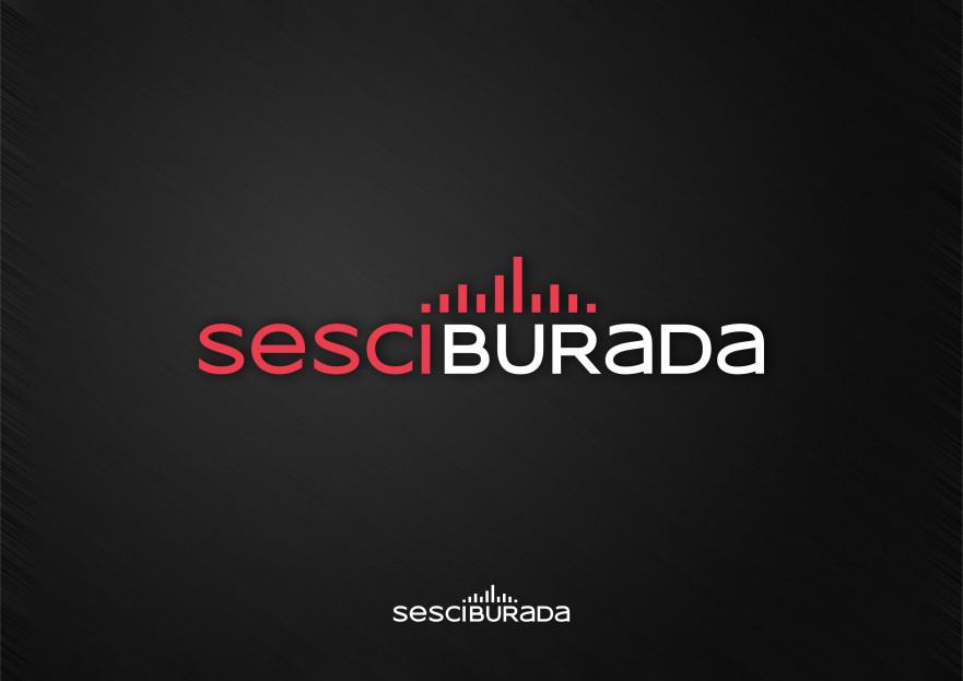 Sesciburada E-Ticaret sistemiz için logo yarışmasına tasarımcı metemin tarafından sunulan  tasarım