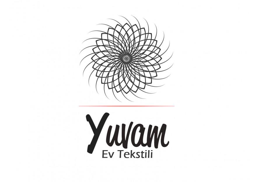 Ev Tekstili  Logo Tasarımı yarışmasına AuRa tarafından girilen tasarım
