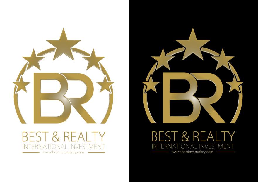Uluslararası Emlak Sitesi Logo Arıyor yarışmasına küçükada tarafından girilen tasarım
