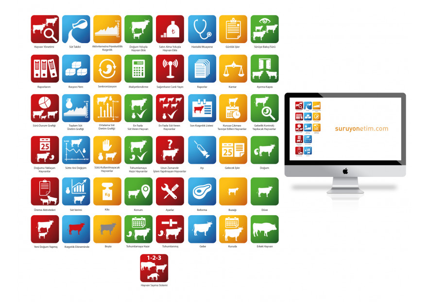 Online Yazılım İkonları yarışmasına tasarımcı ncinar tarafından sunulan  tasarım