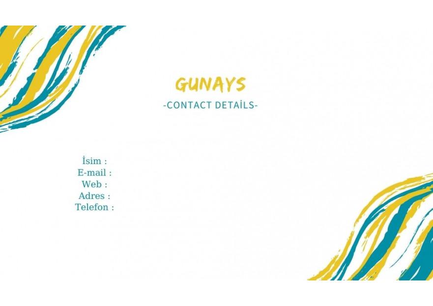 USA de bulunan dukkan icin kartvizit yarışmasına tasarımcı Aydngn tarafından sunulan  tasarım